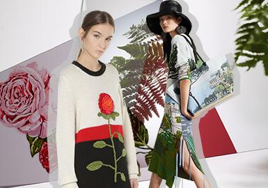 Tropical Plant -- 2020 S/S Pattern for Women's Knitwear