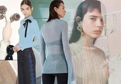 Morandi Palette -- Resort 2020 Women's Knitwear