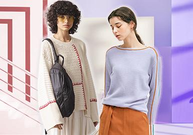 Bold Stitch -- 2020 S/S Women's Knitwear