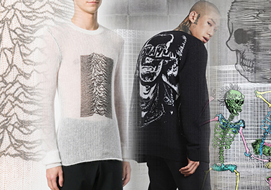 Dark Power -- 2020 S/S Pattern & Craft for Men's Knitwear