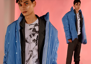 Stylish Puffa -- 19/20 A/W Silhouette Trend for Menswear