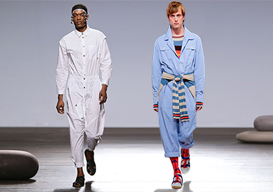 Overalls -- 2019 S/S Men's Items on Catwalks