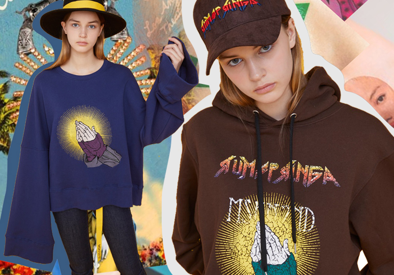 Religion & Fashion -- 19/20 A/W Pattern for Women's Sweatshirt