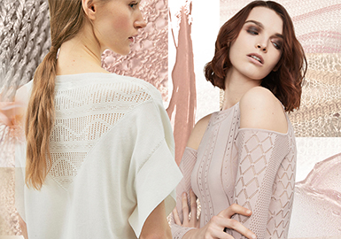 See-through Charm -- 2020 S/S Stitch for Women's Knitwear