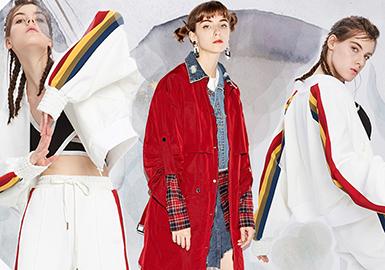 Diverse Jackets -- Pre-Fall 2018 Women's Outerwear in Market