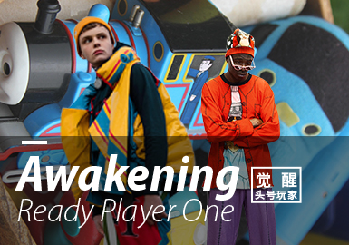 Awakening ▪ Ready Player One (Key Color) -- 19/20 A/W Color Trend for Menswear