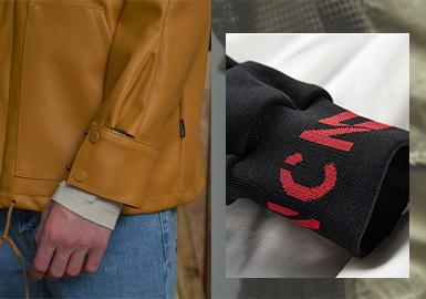 Cuff Decoration -- 2020 S/S Detail of Menswear