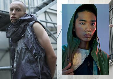 Practical Neck & Collar -- 19/20 A/W Detail of Menswear
