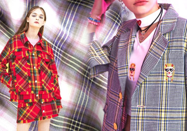 Preppy Style -- 19/20 A/W Check Fabric of Women's Outerwear