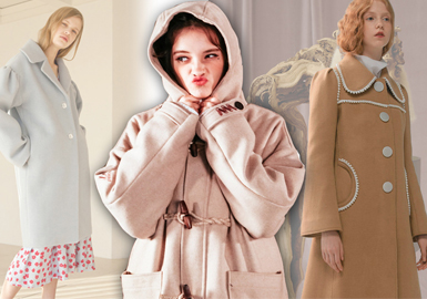 Back to Campus -- 18/19 A/W Women's Coat of Designer Brand