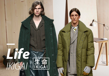 Life ▪ IKIGAI -- 19/20 A/W Design Development of Men's Color