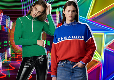 Colorful Sports -- 2020 S/S Color Trend for Women's Knitwear
