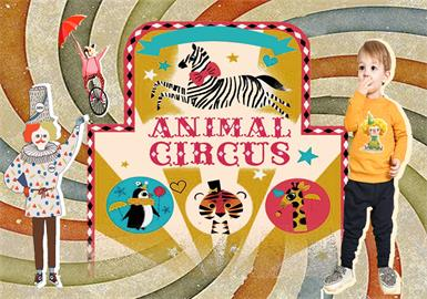 Happy Circus -- 19/20 A/W Pattern Trend for Kidswear