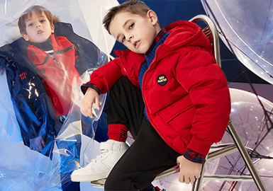 Down Jacket -- 19/20 A/W Silhouette Trend for Boys' Outerwear