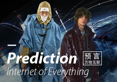 Prediction ▪ Internet of Everything (Key Color) -- 19/20 A/W Color Trend for Menswear