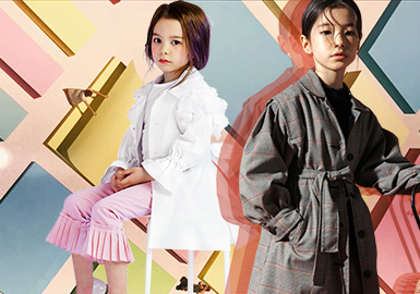 Korean Style -- 2020 S/S Silhouette Trend for Girls' Trench Coat