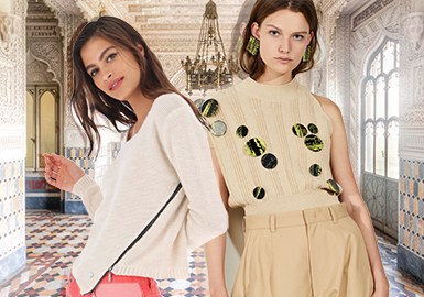 Soft Hardware -- 2020 S/S Accessory Trend for Women's Knitwear