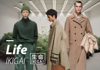 Life•IKIGAI -- 19/20 A/W Design Development for Menswear
