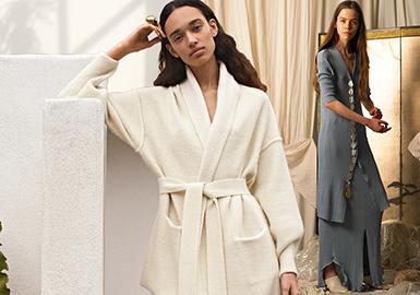 Lounge Style -- Resort 2020 Silhouette Trend for Women's Knitwear