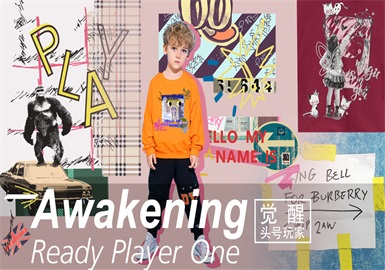 Prediction.Ready Player One -- 19/20 A/W Pattern Trend for Kidswear