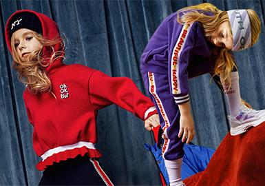 Girls' Sweatshirt -- 18/19 A/W Kidswear Benchmark Brand