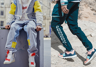 Stylish Athleisure Trousers -- 2020 S/S Silhouette Trend for Menswear