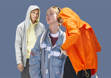 Functional Jacket -- 18/10 A/W Men's Item of Designer Brand