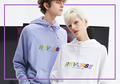 Fashion Sweatshirt -- 2020 S/S Silhouette Trend of Menswear