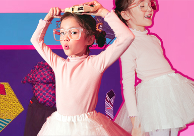Versatile Base Layer -- 19/20 A/W Silhouette Trend for Girls' Apparel