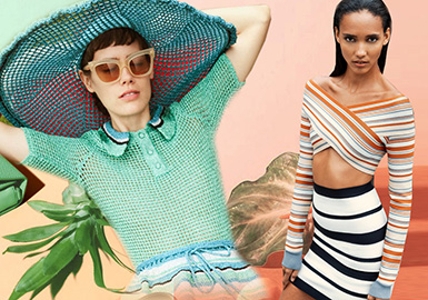 Fresh Summer -- 2020 S/S Color Trend for Women's Knitwear
