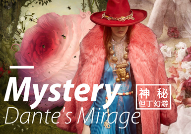 Mystery • Dante's Mirage -- 19/20 A/W Design Development for Young Women