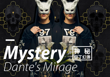 Mystery • Dante's Mirage -- 19/20 A/W Design Development for Menswear