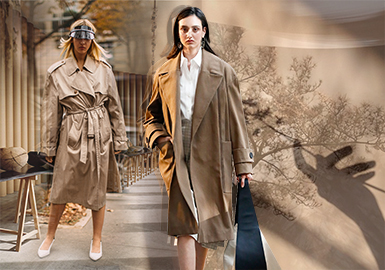 Sand Brown -- 19/20 A/W Color Trend for Womenswear