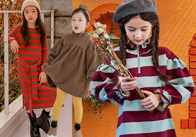Sweatdress -- 18/19 A/W Kidswear in Korean Market