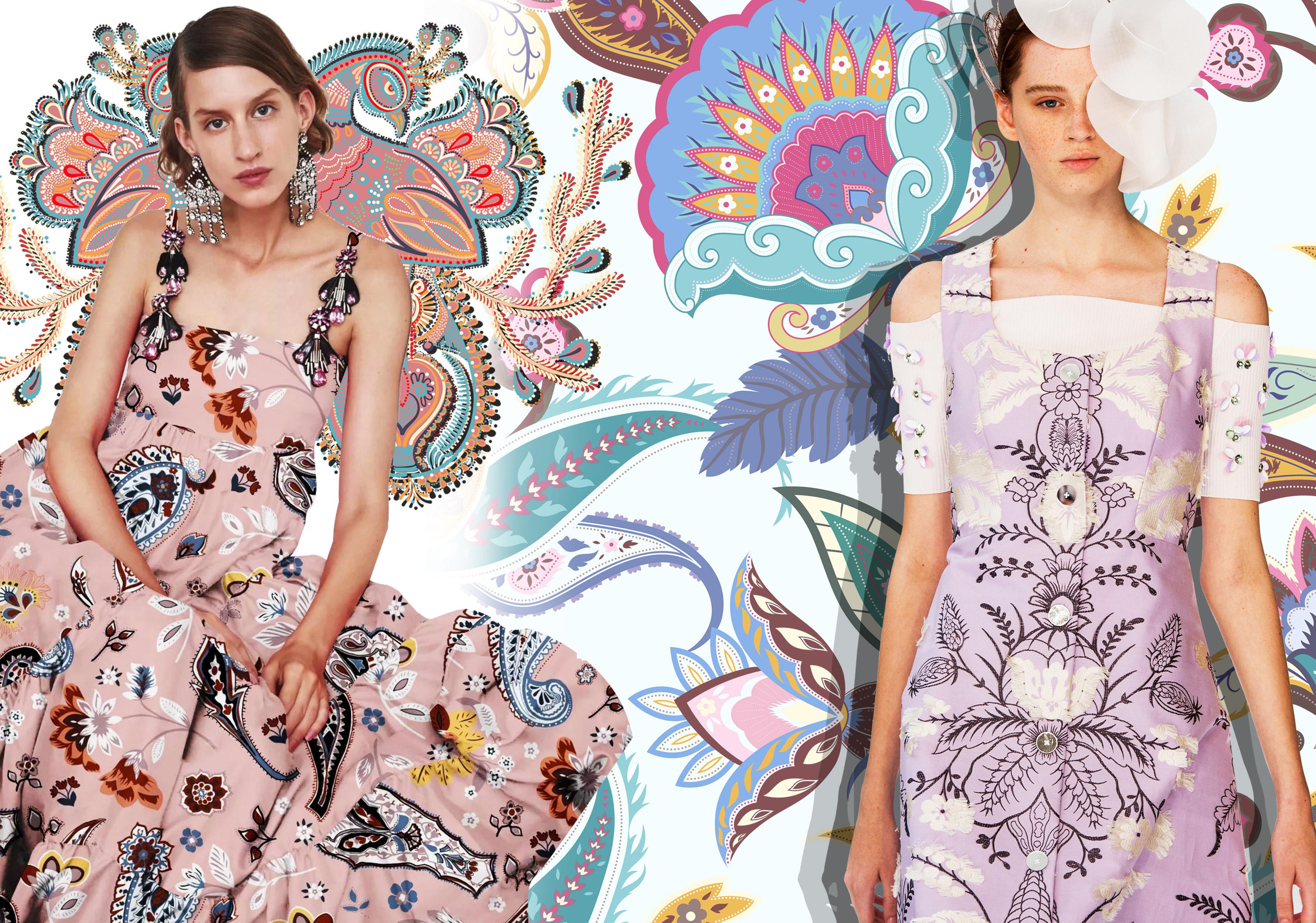 Folkloric Motif -- 2020 S/S Pattern Trend for Womenswear