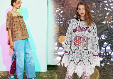 Modern Utility -- 2020 S/S Women's Lace Fabric