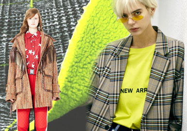 Neo-nostalgia -- 19/20 A/W Material for Women's Coat