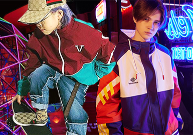 Funky Splicing -- 19/20 A/W Trend of Boys' Jacket
