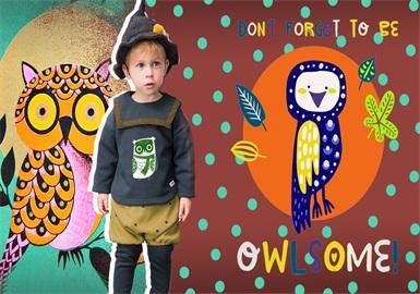 Owl -- 19/20 A/W Pattern Trend for Kidswear