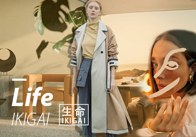 Life · IKIGAI -- 19/20 A/W Design Development for Womenswear