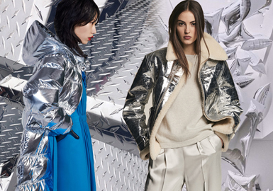 Silver Gray -- 19/20 A/W Color Trend for Womenswear