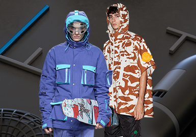 Sporty Jacket -- 2019 S/S Men's Item on Catwalk