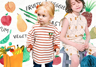 Vegetable & Fruit -- 2020 S/S Trend Forecast for Kidswear