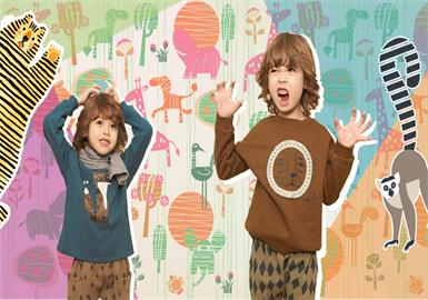 Animals -- 19/20 A/W Pattern Trend for Kidswear