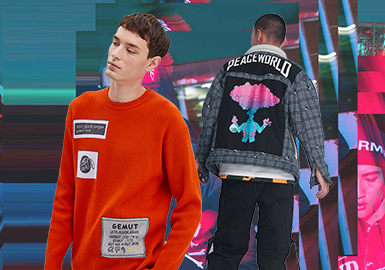 Applique -- 2020 S/S Technique Trend of Men's Patterns