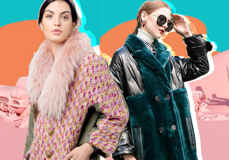 Splicing of Furs -- 19/20 A/W Furs Collocation for Womenswear