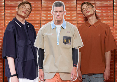 Polo Shirt -- 18/19 A/W Men's Hot Item in Market