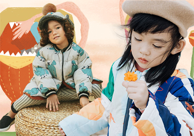 Padded Coat -- 18/19 A/W Kidswear Designer Brand