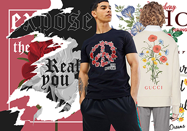 Floral Story -- 2020 S/S Pattern Trend for Menswear