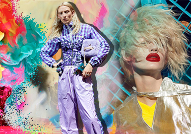 Generation Y -- 2019 S/S Color Trend Confirmation for Womenswear